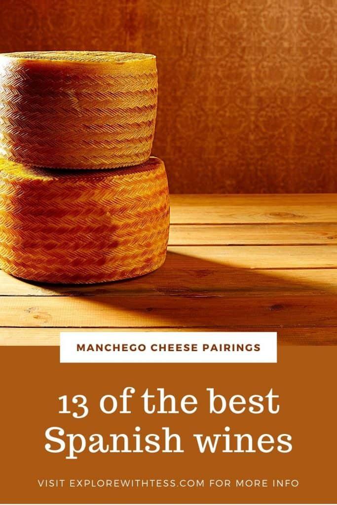 manchego cheese wine pairing