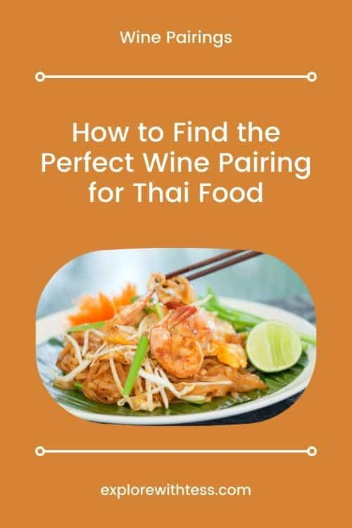 Thai food wine pairing