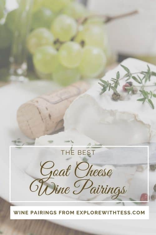 goat cheese wine pairing