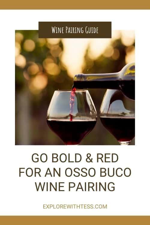 osso buco wine pairing