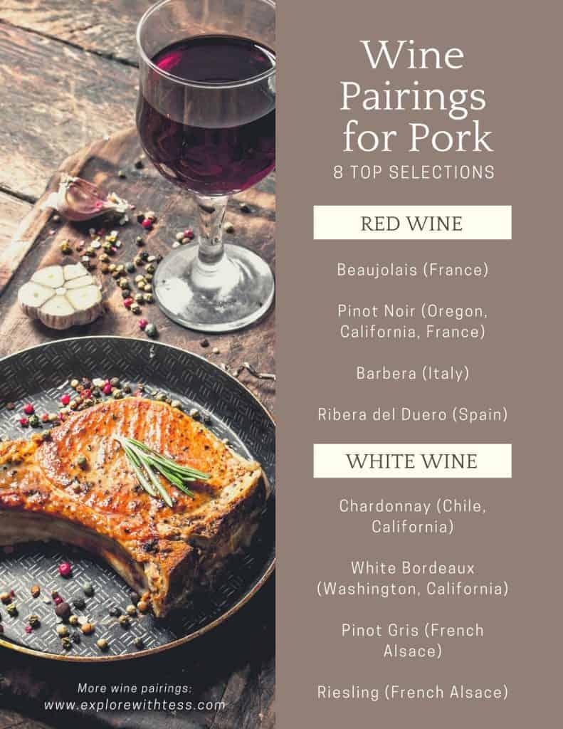 wine pairing with pork